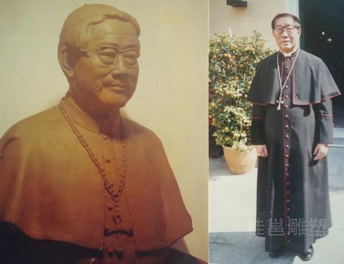 澳门牧师所做的肖像