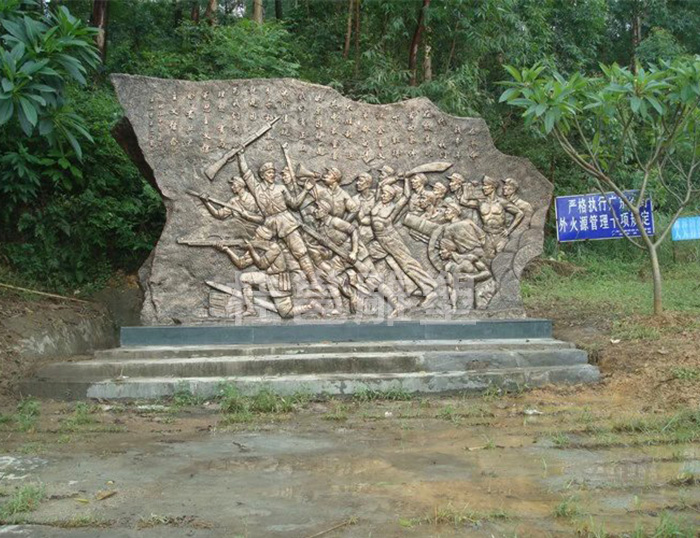 部队文化雕塑