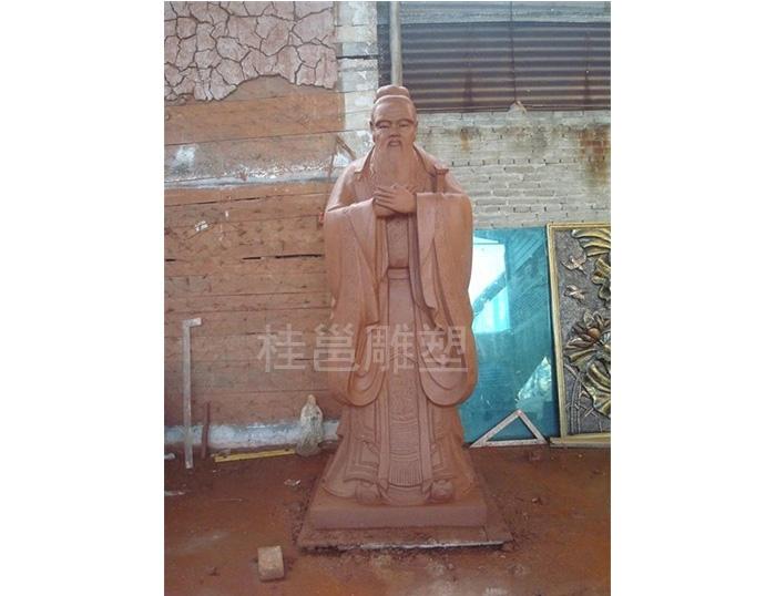 本厂所做孔子像为广州市、南宁市等多家学校所做
