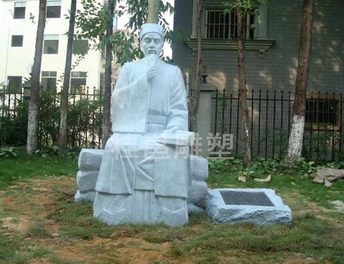 本厂为广州市番禺区沙湾镇文化广场所做的海瑞雕塑