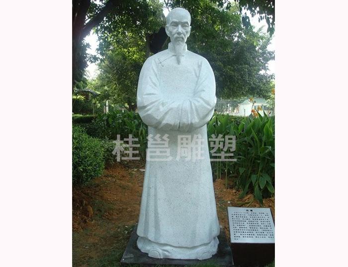 本厂为广州市番禺区沙湾镇文化广场所做的刘墉雕塑